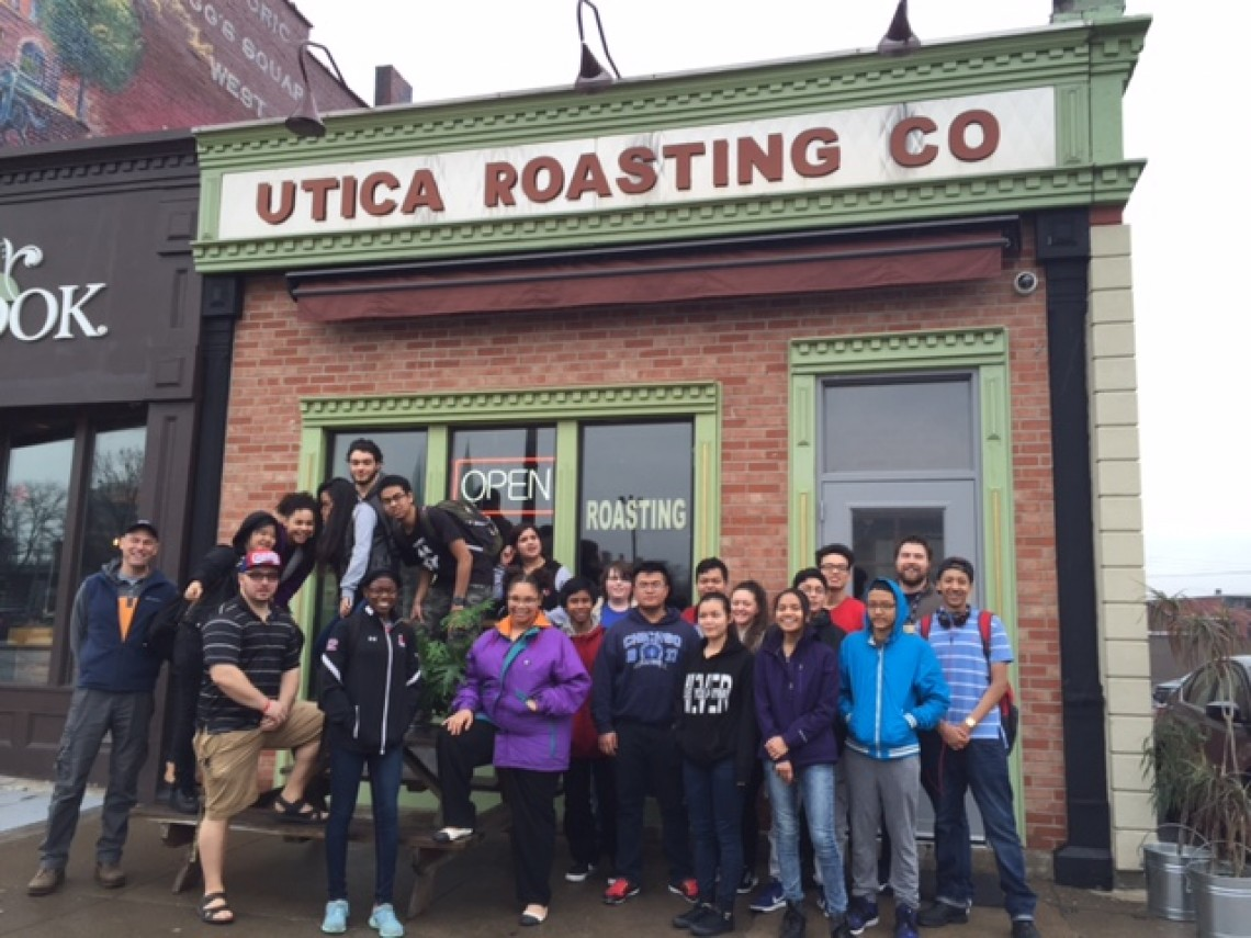 Utica Roasting Co Visit
